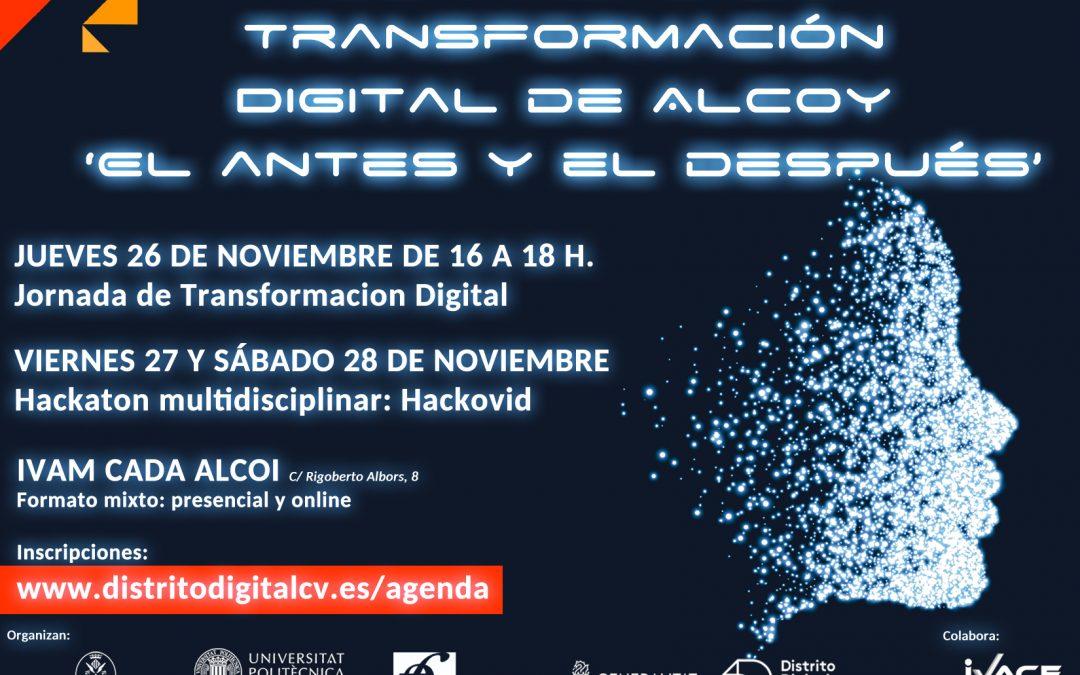 Luz Fabregat CEO de Redarquía Digital participará en las I Jornadas de Transformación Digital Alcoy 2020.